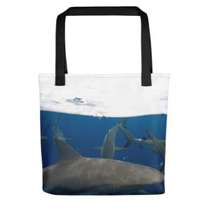 Under Over Reusable Tote bag