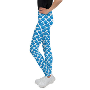 Mermaid or Merman Young Adult Youth Leggings