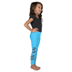 Save Dolphins Kid's Leggings