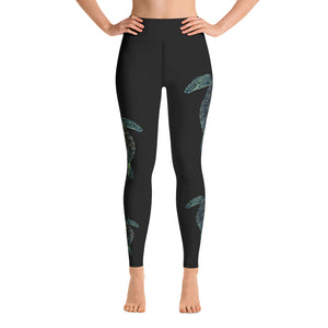 Alexis Turtle Yoga/Dive/Surf Leggings Honu