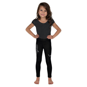 Tiger shark & One Ocean Conservation Logo Shark Kid's Leggings