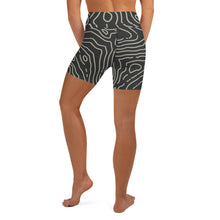 Lady At the Helm One Ocean bikini Design Matching Yoga Swim Shorts ***Matches the One Ocean Bikini Design Lady at the Helm available at OneOceanBikini.com ***