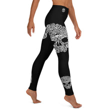 Marine Life Skull Yoga Leggings