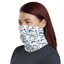 Whale whale well face cover/ Neck Gaiter (Get the matching Bikini at OneOceanBikini.Com)