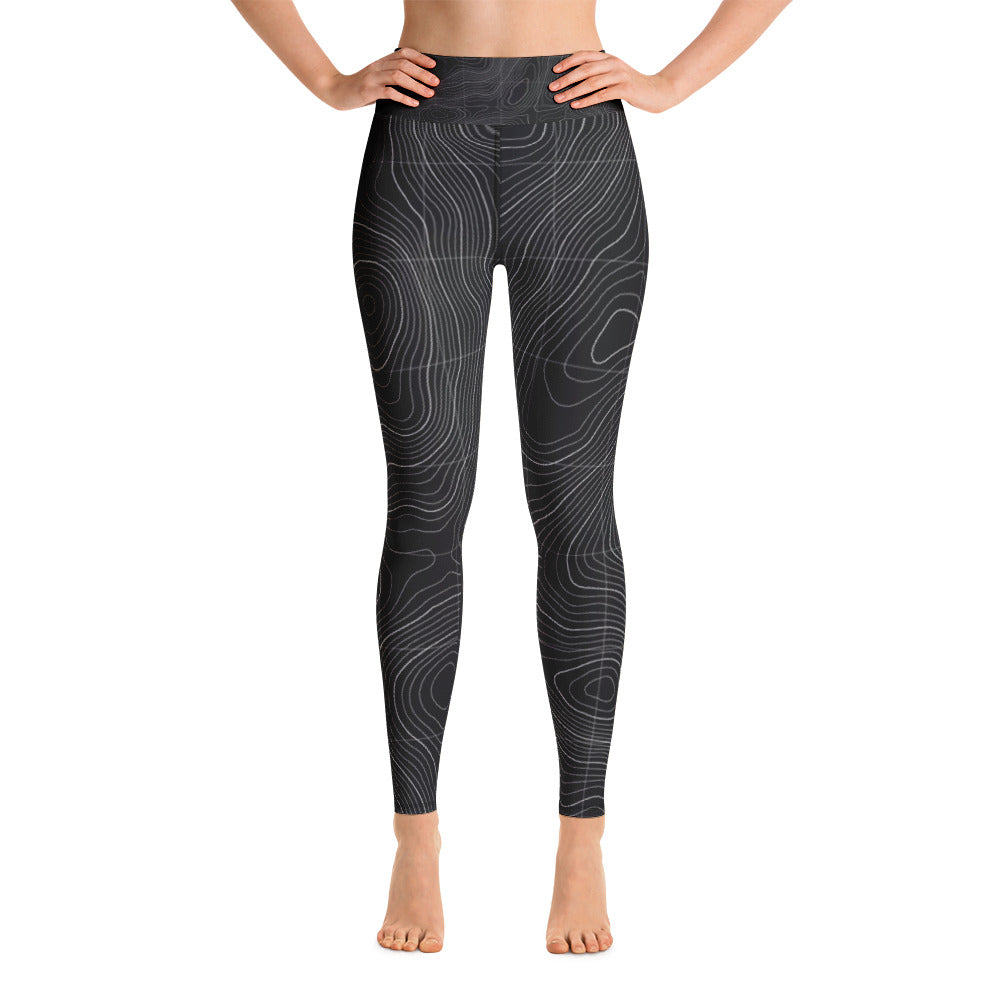 Ocean Contour Yoga Leggings