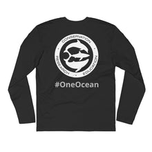 Great White Shark Long Sleeve Fitted Crew
