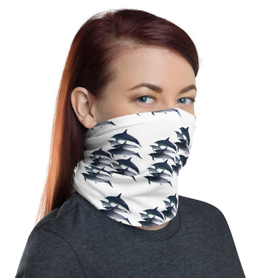 Dolphin Face Cover/ Neck Gaiter