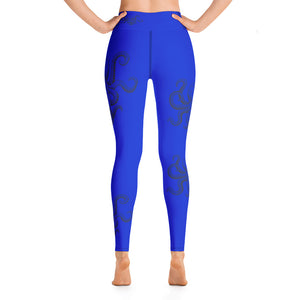 Blue Ring Octopus Leggings