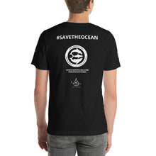 PLASTIC IS THE REAL KILLER #SaveTheOcean #HelpSaveSharks OneOcean T-shirt Short-Sleeve Unisex T-Shirt