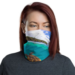 Turtle face cover / Neck Gaiter