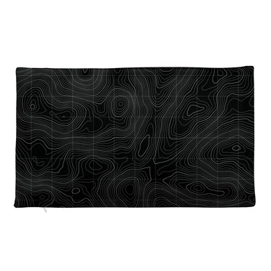 Ocean Contour Premium Pillow Case
