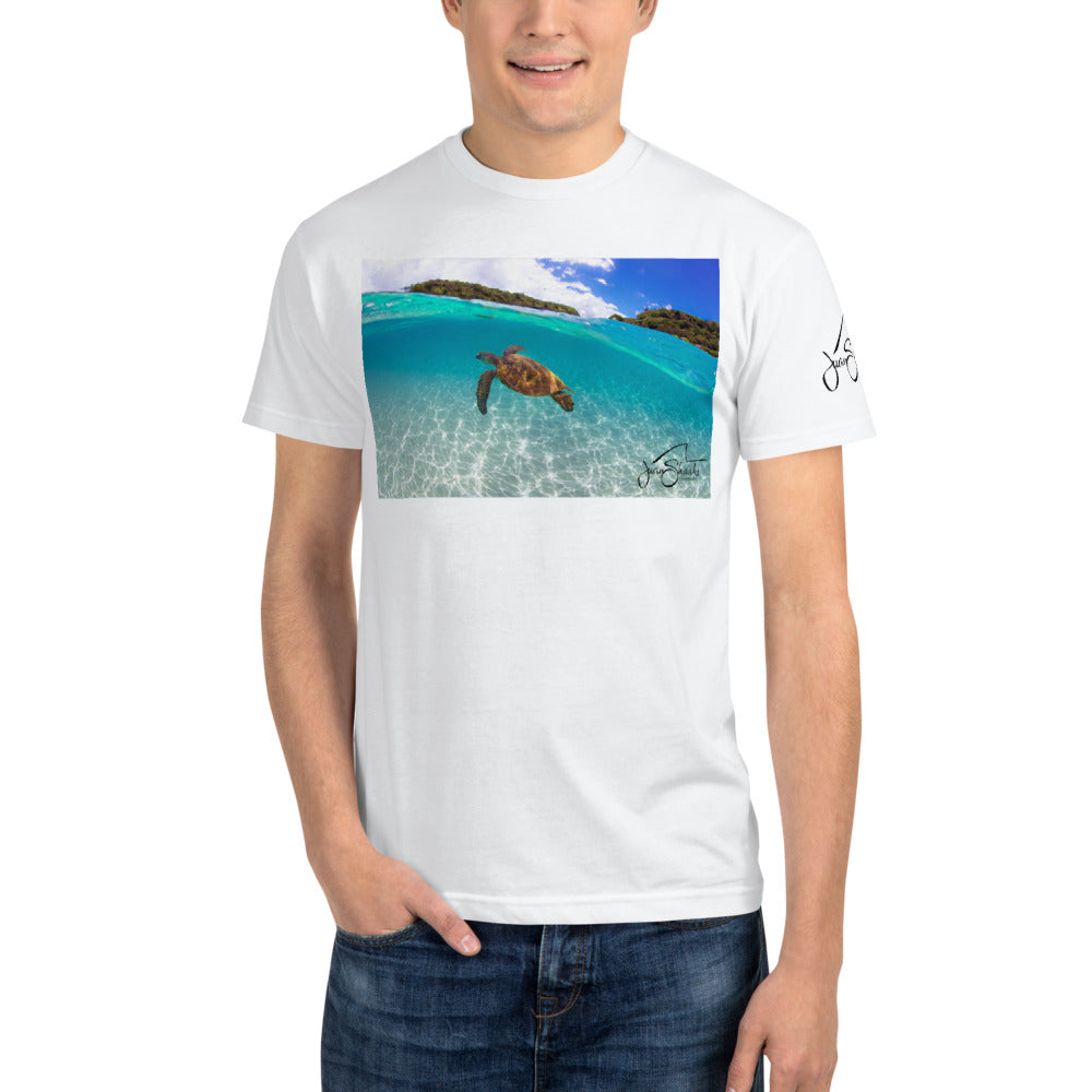 Save The Ocean Turtle Sustainable T-Shirt