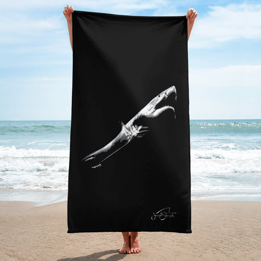 Great White Shark Towel