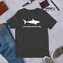 Just Keep Swimming Short-Sleeve Unisex T-Shirt