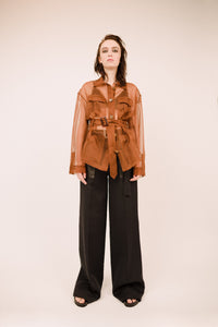Carine Organza Safari Jacket
