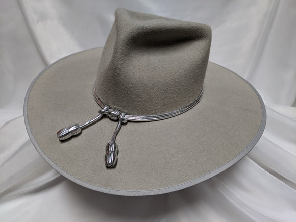 Cavalry Hat 7 1/2 - Silver Belly (10X) #20-081 - DBarJHats