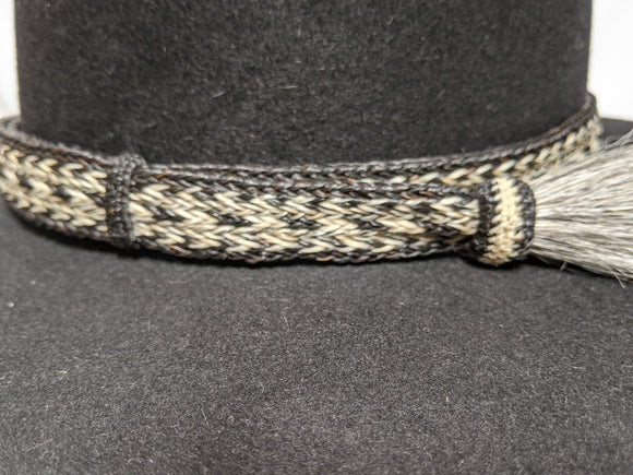 XL Horsehair Hatband for Helmets, 7/8