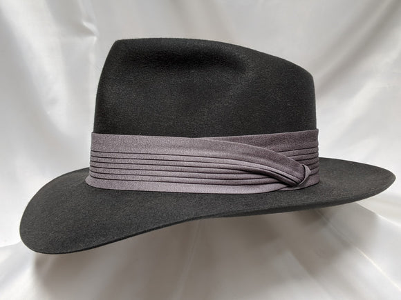 Fedora 7 1/2 - Steel (100X) #19-196 Platinum Collection