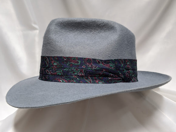 Fedora 7 1/4 - Blue Haze (10X) #19-204 Platinum Collection