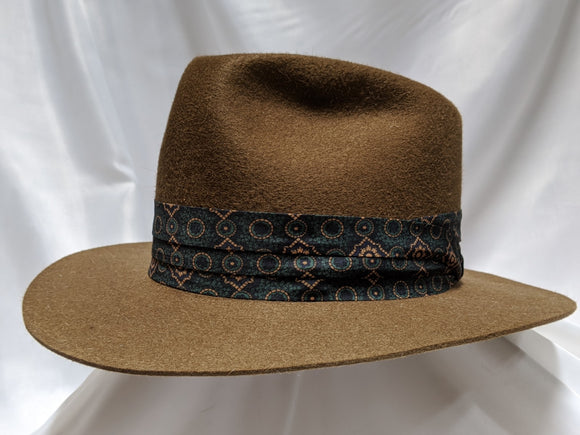 Fedora 7 1/4 - Whiskey (10X) #19-077 Platinum Collection