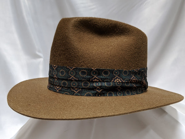 Fedora 7 3/8 - Whiskey (10X) #19-082 Platinum Collection
