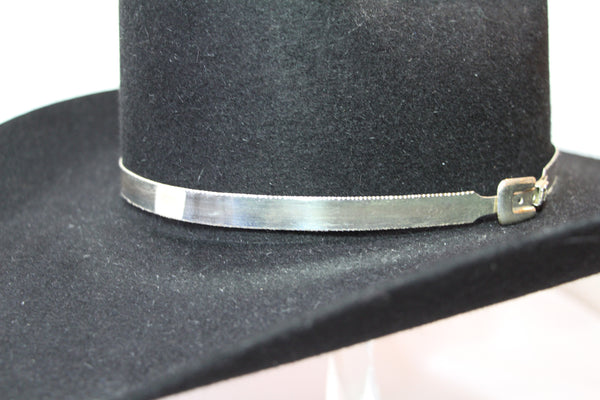 Custom Fine Silver .999 Hat Band - DBarJHats