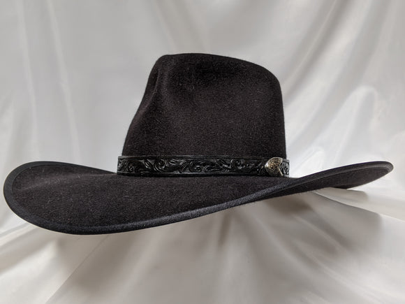 Cavalry Hat 7 5/8 - Black (10X) #20-178