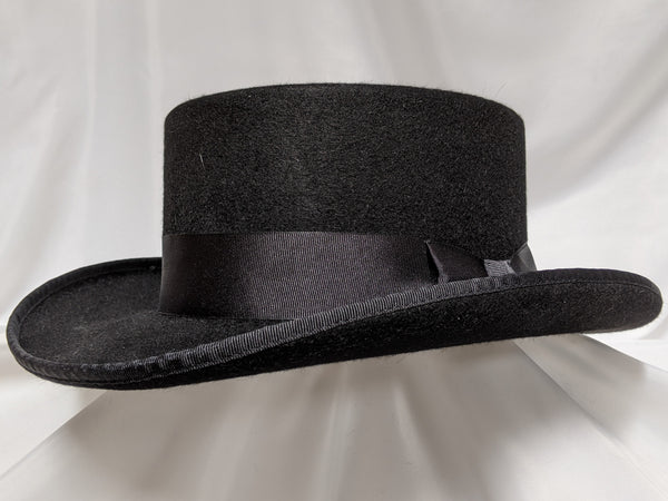 Top Hat 7 3/4 - Black (10X) #20-177