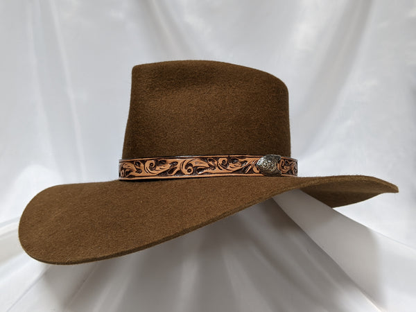 Cavalry Hat 6 1/2 - Whiskey (10X) #18-010