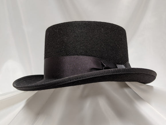 Top Hat 6 3/4 - Black (10X) #17-082
