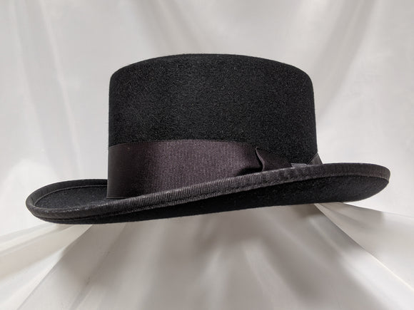 Top Hat 6 3/4 - Black (100X) #17-072