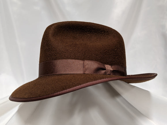Fedora 6 3/4 - Dark Brown (10XB) #15-090