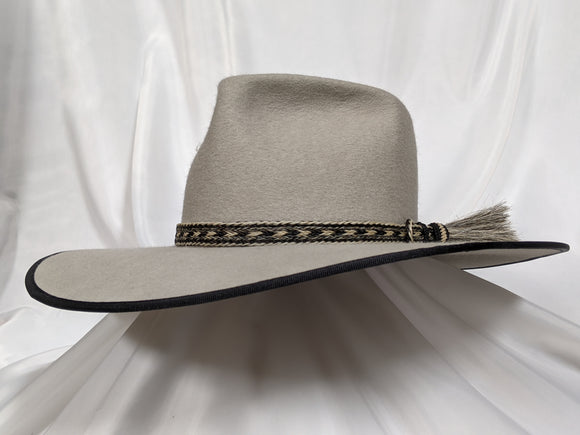 Cavalry / Tycoon Hat 7 1/2 - Silver Belly (10X) #21-051