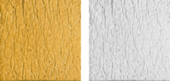 Peccary leather Yellow and white