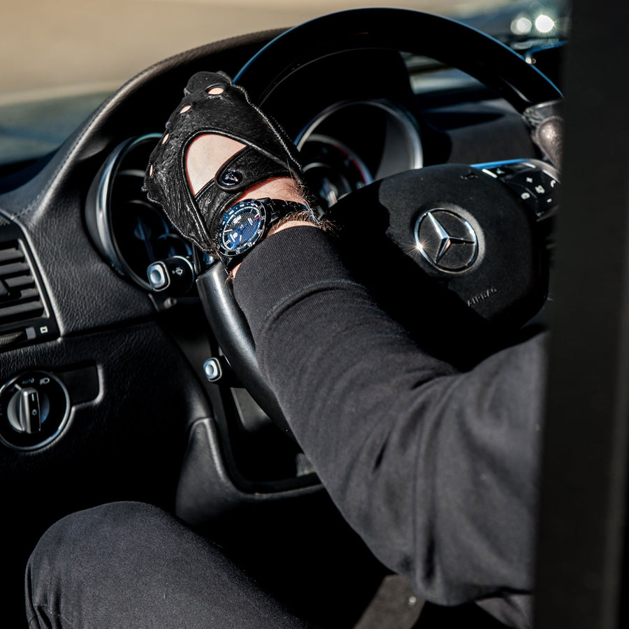 Tutto nero driving gloves