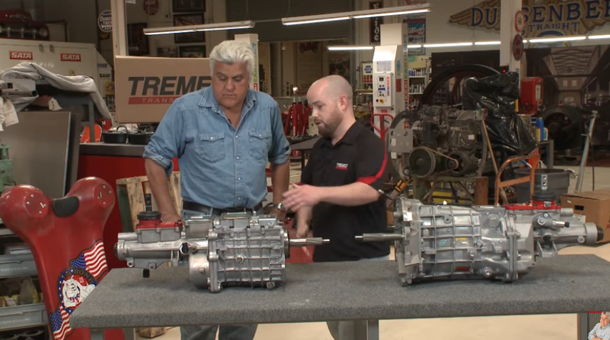 Tremec is the Choice of Jay Leno's Garage