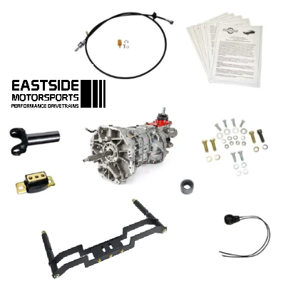 1982-93 Fox Body Mustang To TREMEC 6-Speed Install System