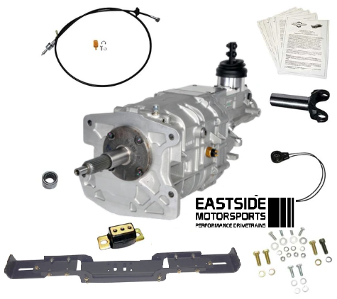 55-57 (Tri Five Bel Air, 150, 210 & Nomad) Tremec TKX 5 Speed Install Kit