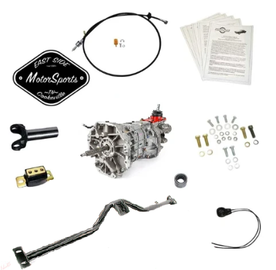 1958-1970 B-Body: (Impala, Caprice, Bel Air, Bonneville, Grand Prix, Catalina & Biscayne) Tremec Magnum 6 Speed Install Kit