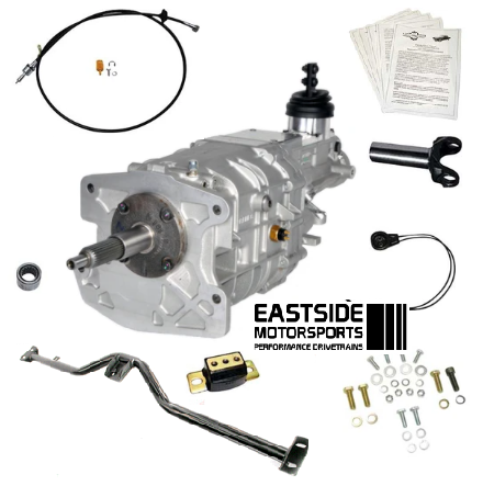 1958-1970 B-Body: (Impala, Caprice, Bel Air, Bonneville, Grand Prix, Catalina & Biscayne) Tremec TKX 5 Speed Install Kit