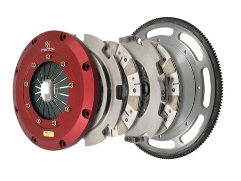 T56 Swap 2011-2017 Mustang GT Twin Disc Clutch Kit Ceremetallic M921236-26