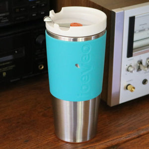 Temperfect Javabliss 16 Travel Mug, Aqua
