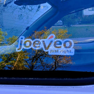 Joeveo Logo Static Stick Sticker