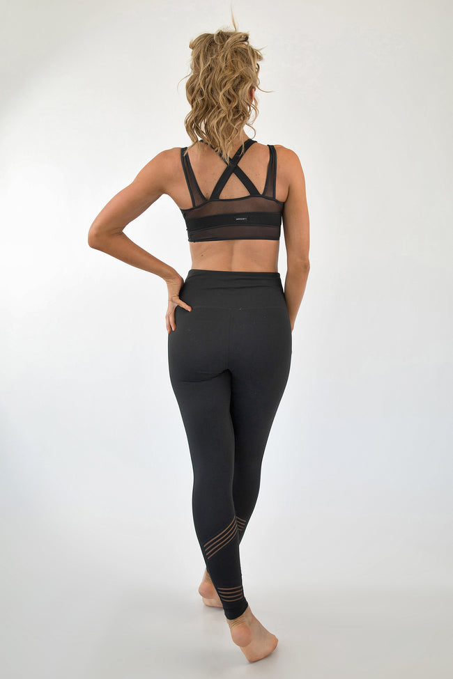 WILL YOU MESH ME WHEN I'M GONE LEGGINGS