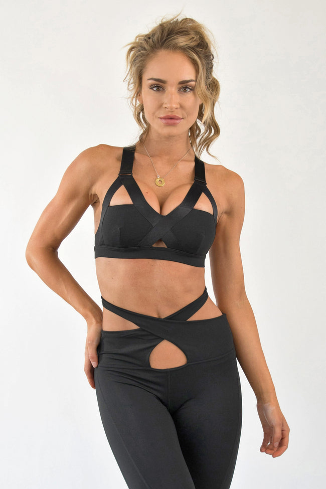 CUT IT OUT SPORTS BRA
