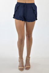 CALL ME BAMBI SHORTS - NAVY