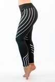 SLAY Rainbow Reflective Leggings