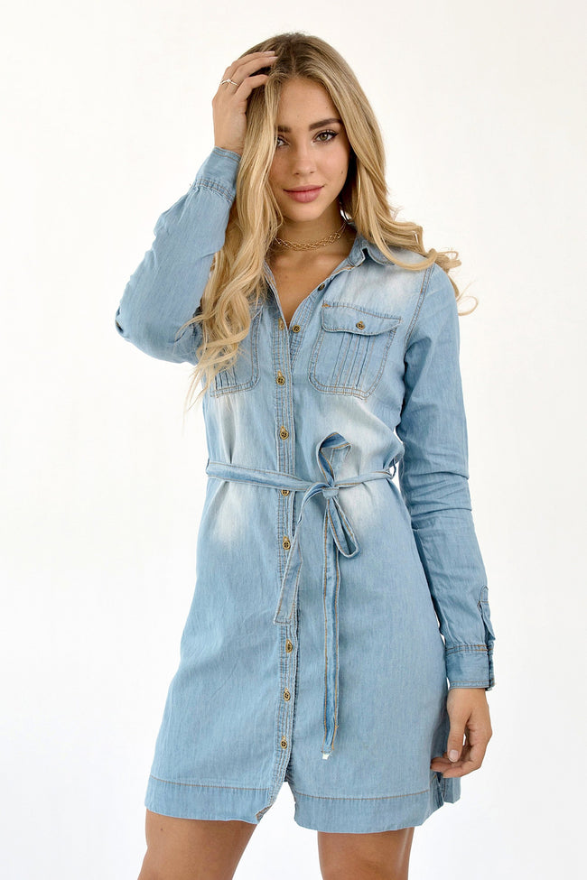 NAPA DENIM DRESS