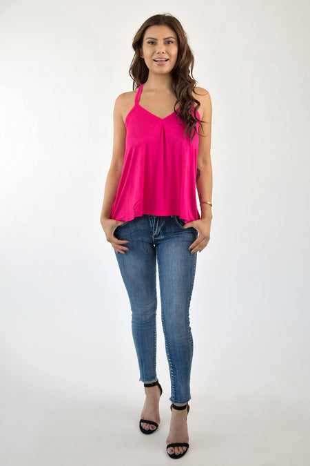 LOVE CUFF CROP TOP - BLUSH