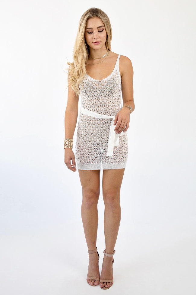CHARLY DRESS - WHITE